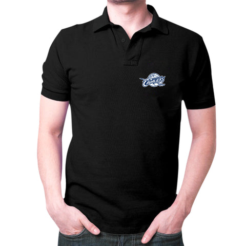 Black Cleveland Polo T-Shirt