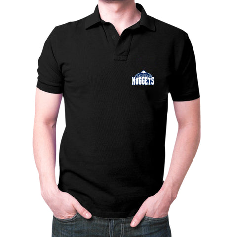Black Denver Polo T-shirt