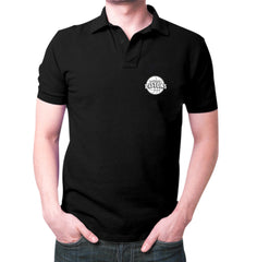 Black Detroit Polo T-Shirt