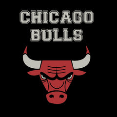 Chicago Bulls Black Half Sleeves T-Shirt