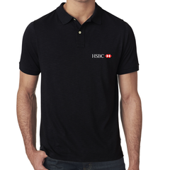 HSBC Black Polo T-Shirt