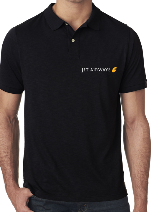 Jet Airways Half Polo T-Shirt