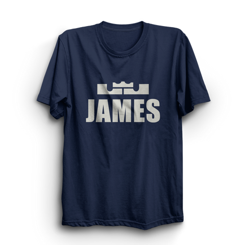 James Navy Blue T-Shirt