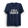 Image of James Navy Blue T-Shirt