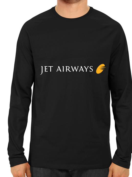 Jet Airways Full Sleeves T-Shirt