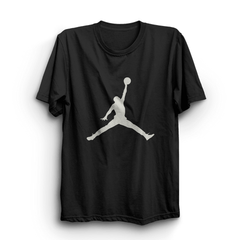 Jordan Black Half Sleeves T-Shirt