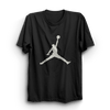 Image of Jordan Black Half Sleeves T-Shirt