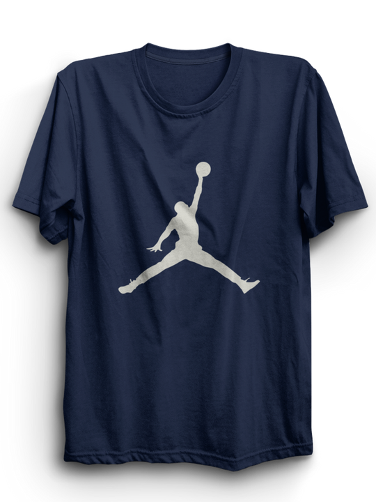 Jordan Navy Blue Half T-Shirt