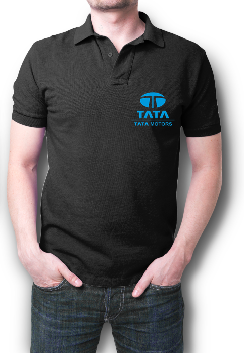 Tata Motors Half Polo T-Shirt