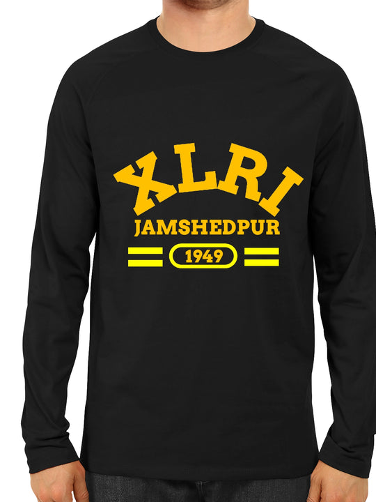 XLRI Black Full T-Shirt