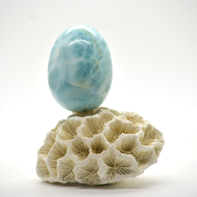 The Story of Larimar a Caribbean Gem Stone