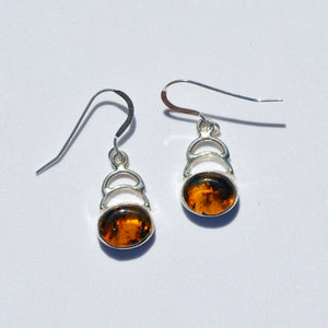 Caribbean Amber Step Earrings