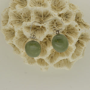 Tortola Green Jasper Earrings 8.5g