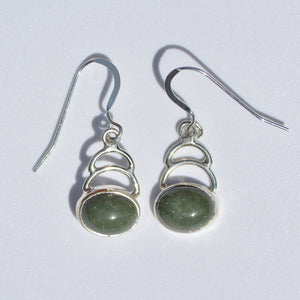 Tortola Green Jasper Earrings