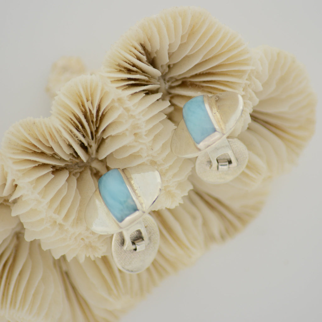 Larimar Cuff Links 10.4g