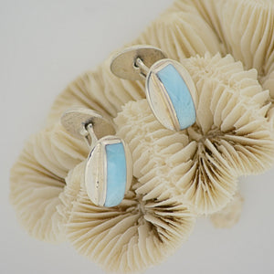Larimar Cuff Links 10.8g