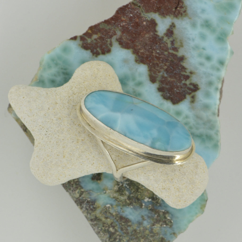 Extra Large Larimar Ring