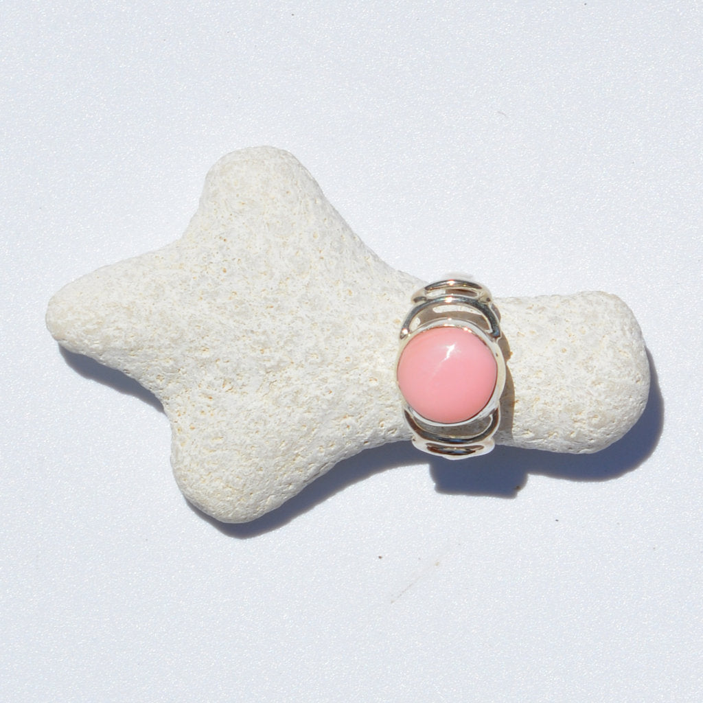 Pink Conch Shell Ring