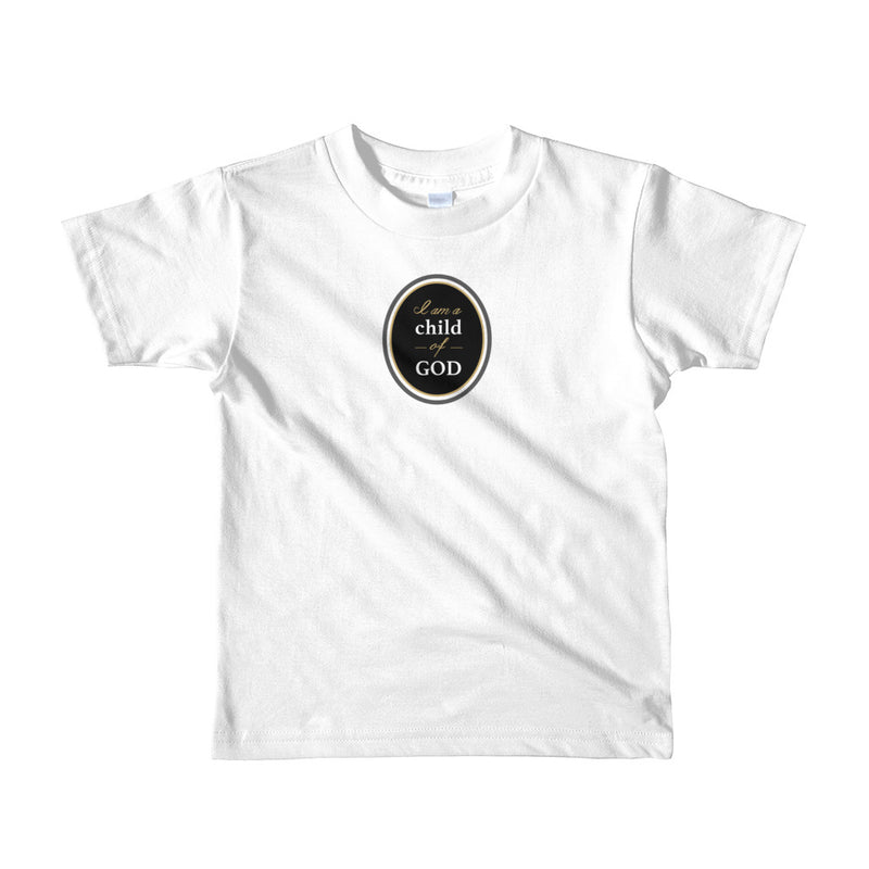 Child of God badge – kids t-shirt