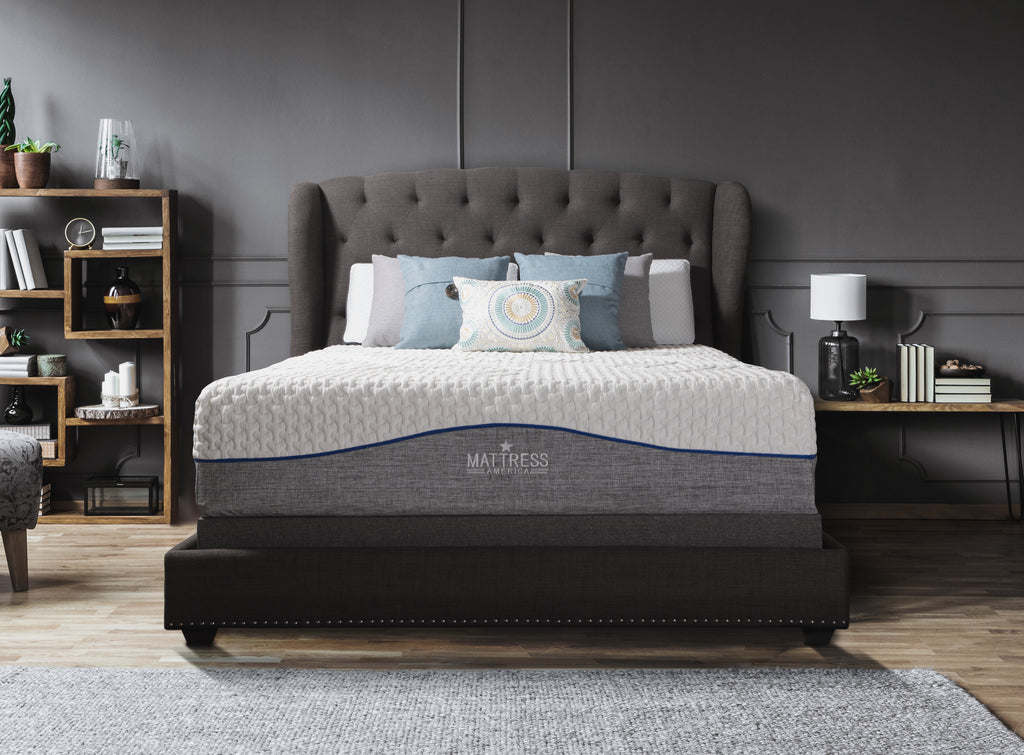 Revive 12 Inch Gel Memory Foam Mattress