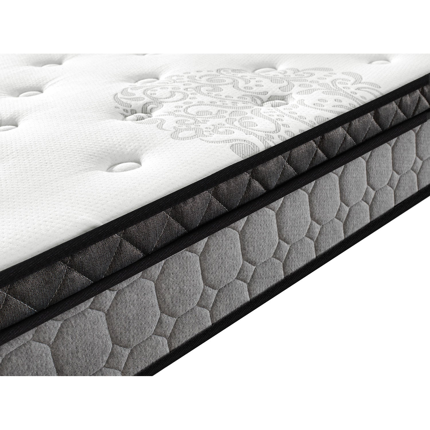 First Edition 8 inch Pillow Top HD Foam Mattress