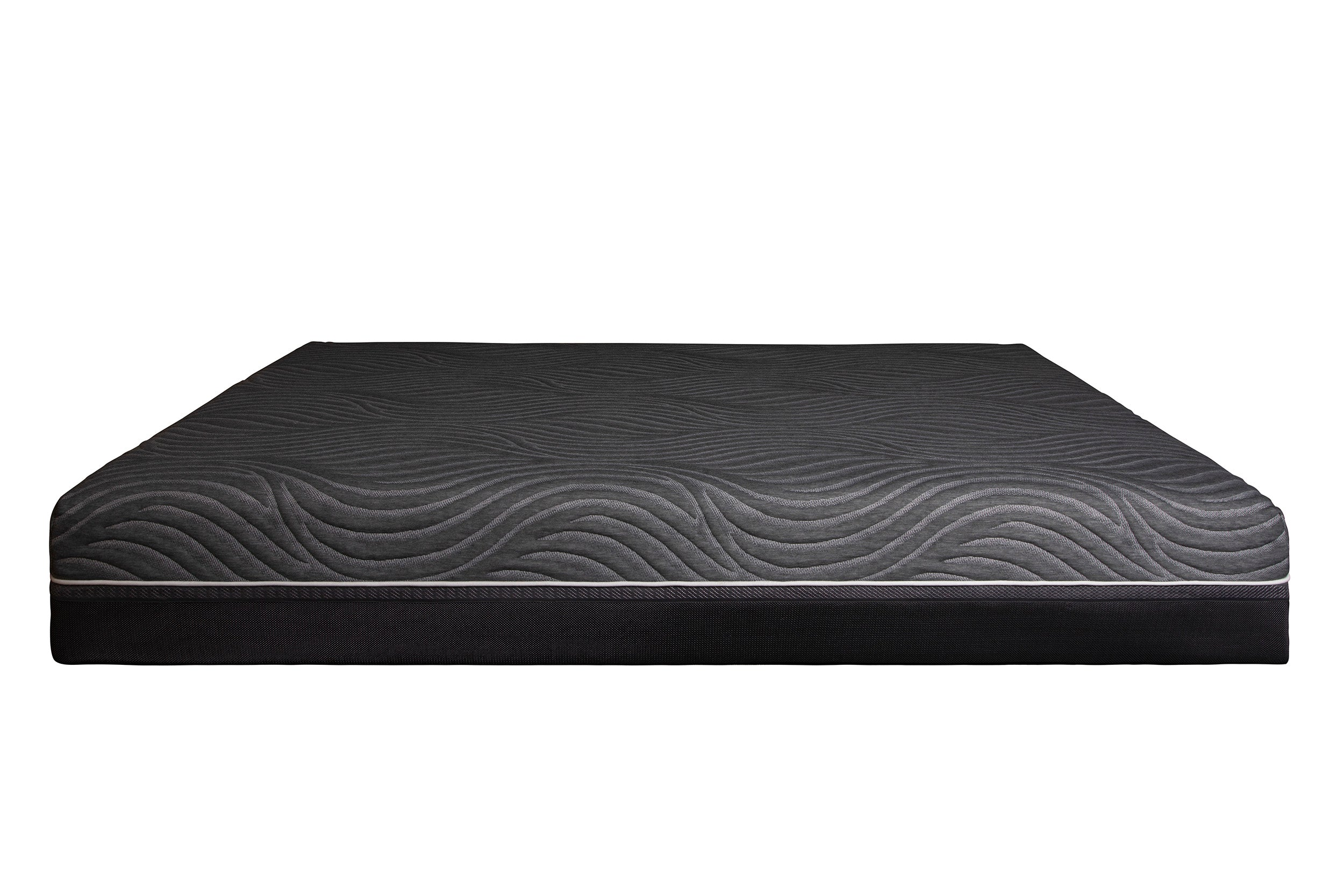 Serenity 12 Inch Pocket Coil Foam Encased Ventilated Gel Infused Memory Foam Mattress