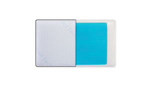 Gel insert Memory Foam Pillow