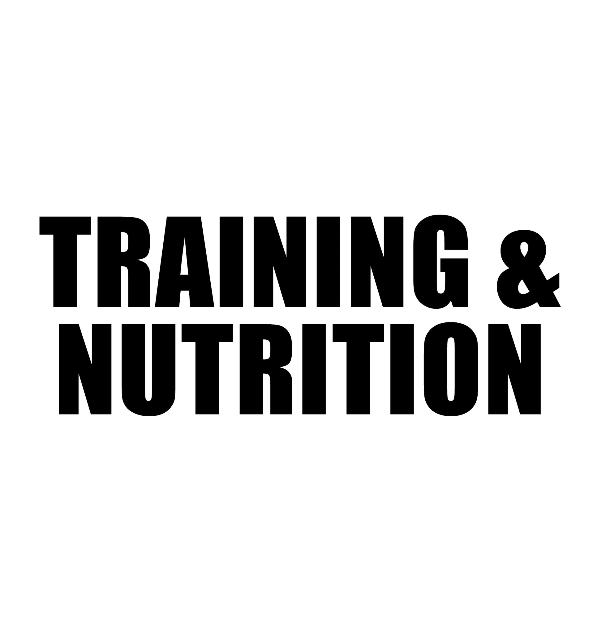 $2800 12 Months Training & Nutrition