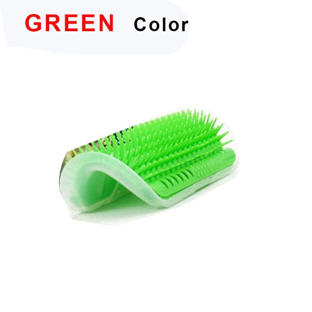 Cat Self Grooming Hair Accessorie With Catnip Angle Face Tickling Hair Removal Massage Brush Comb And Grooming Glove