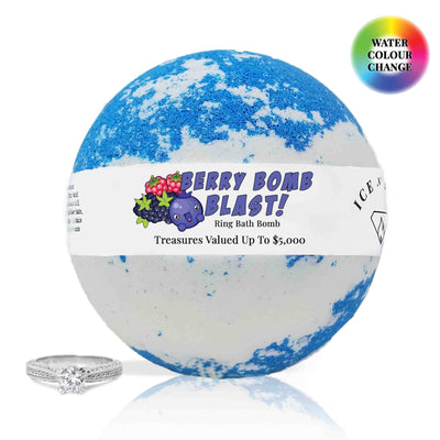Berry Bomb Blast Ring Bath Bomb