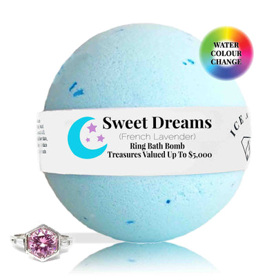 Sweet Dreams Ring Bath Bomb (French Lavender)
