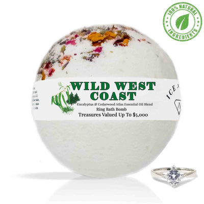 Wild West Coast Ring Bath Bomb (Essential Oil Blend)