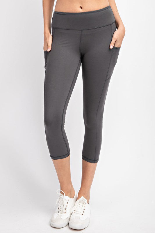 Capri Pocket Leggings - 9 colors
