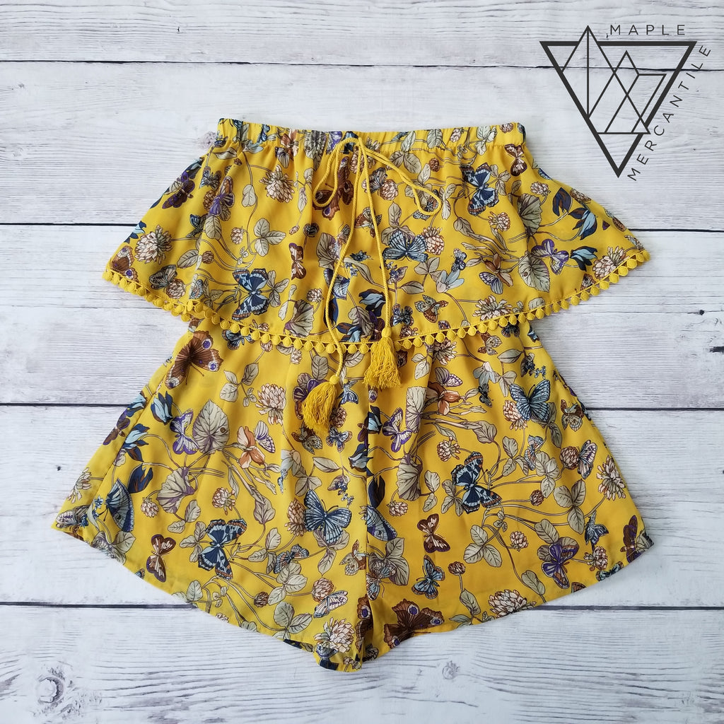 Butterfly Kisses Romper