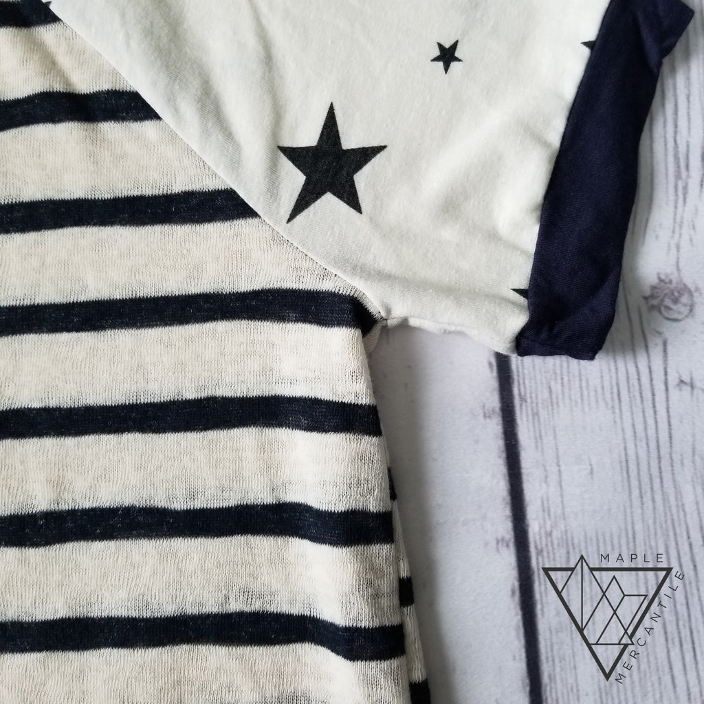 Knit Stars & Stripes Tee