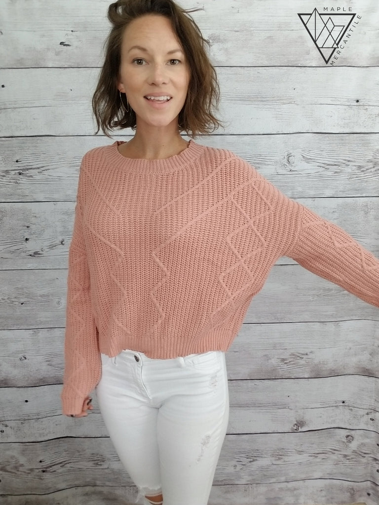 Vanessa Cropped Sweater