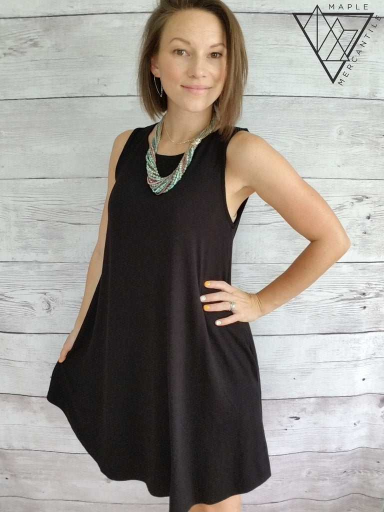 Sleeveless Perfect Dress - 3 colors