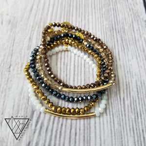 Mini Fall Bracelet Stack