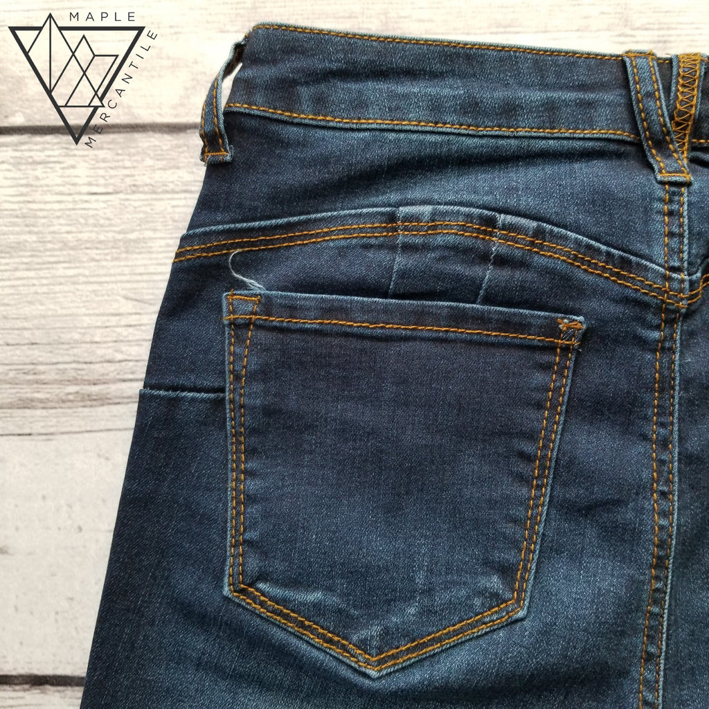 High Rise Skinny Jean - Dark Denim