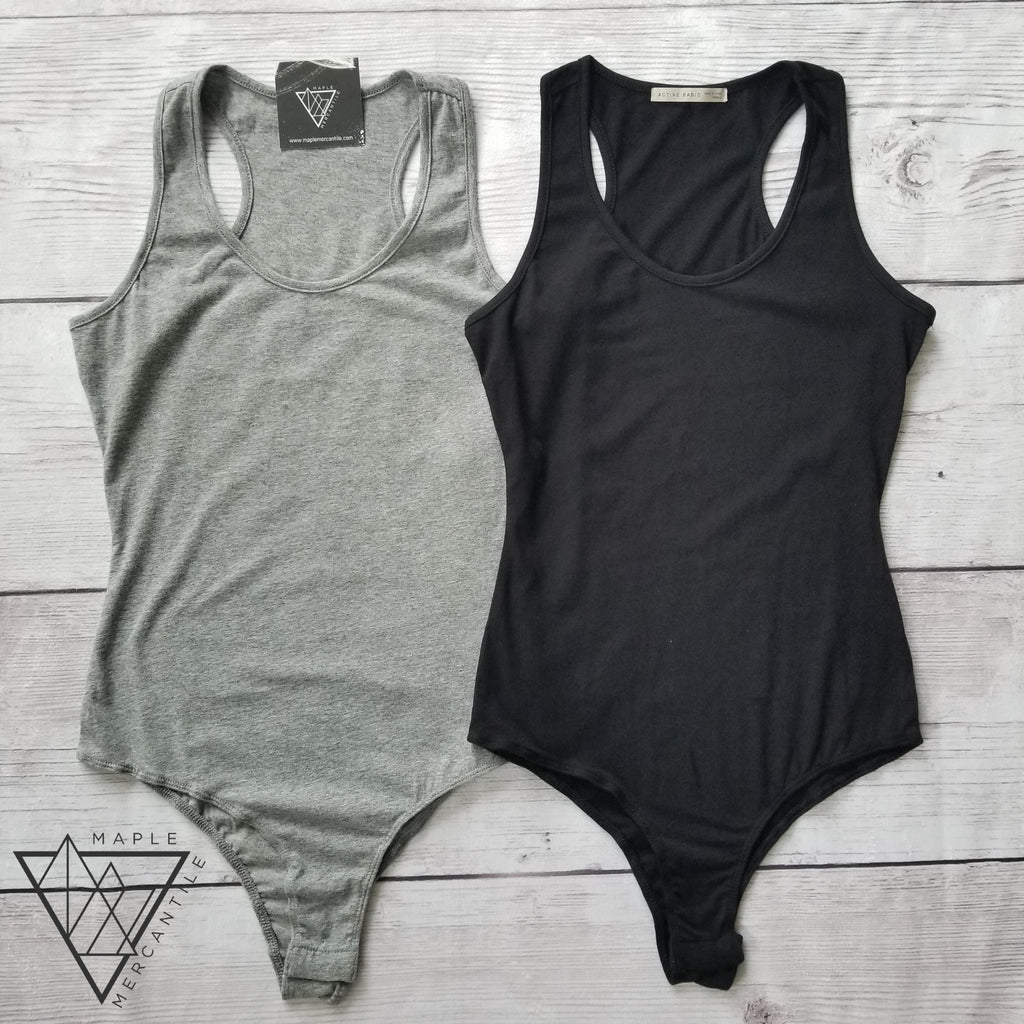 Light Racerback Bodysuit