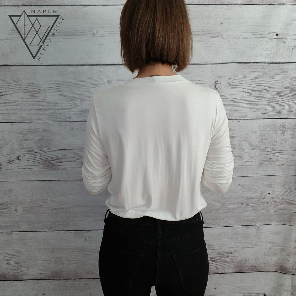 Long Sleeve Relaxed Bodysuit