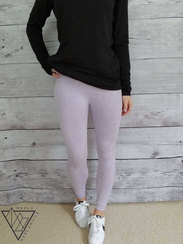 Seamless Ribbed Leggings - 2 colors