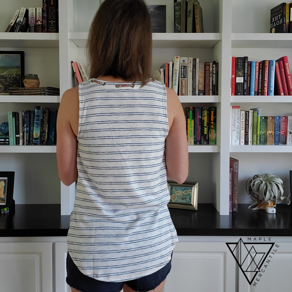 Knit Ribbon Tank Top