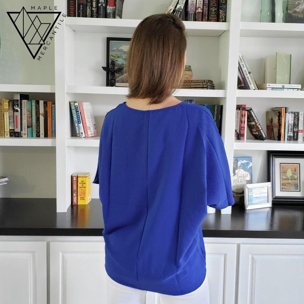 Textured Slouchy Tunic