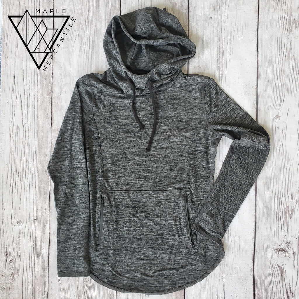 Charcoal Active Hoodie