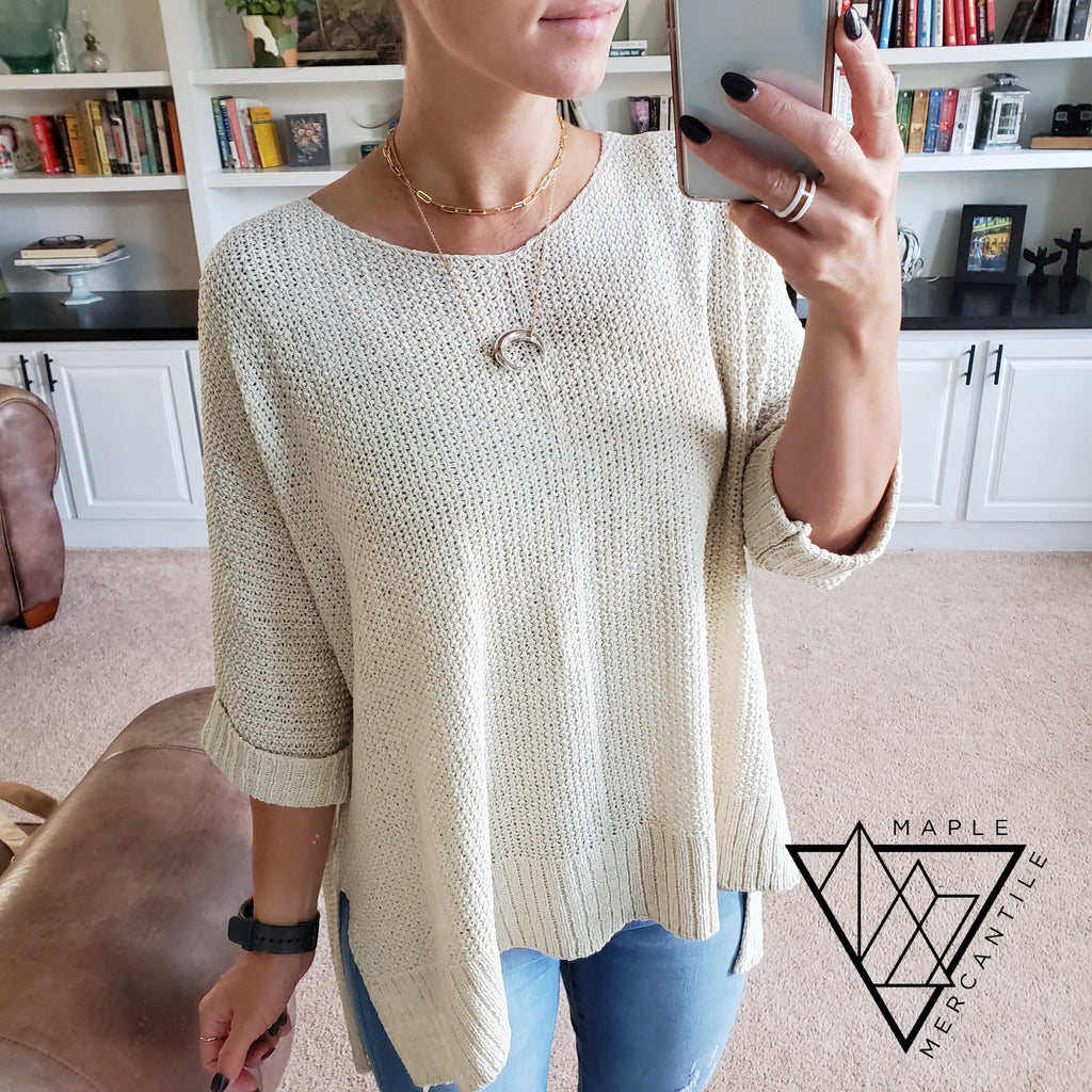 Breeze Knit Sweater - 4 Colors