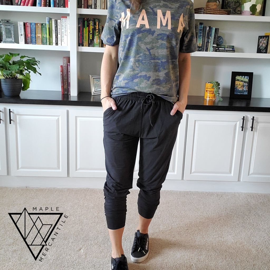 The Legging Jogger - Black