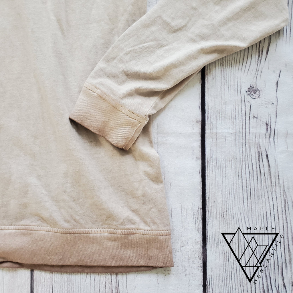 Vintage Wash Dusty Pink Pullover