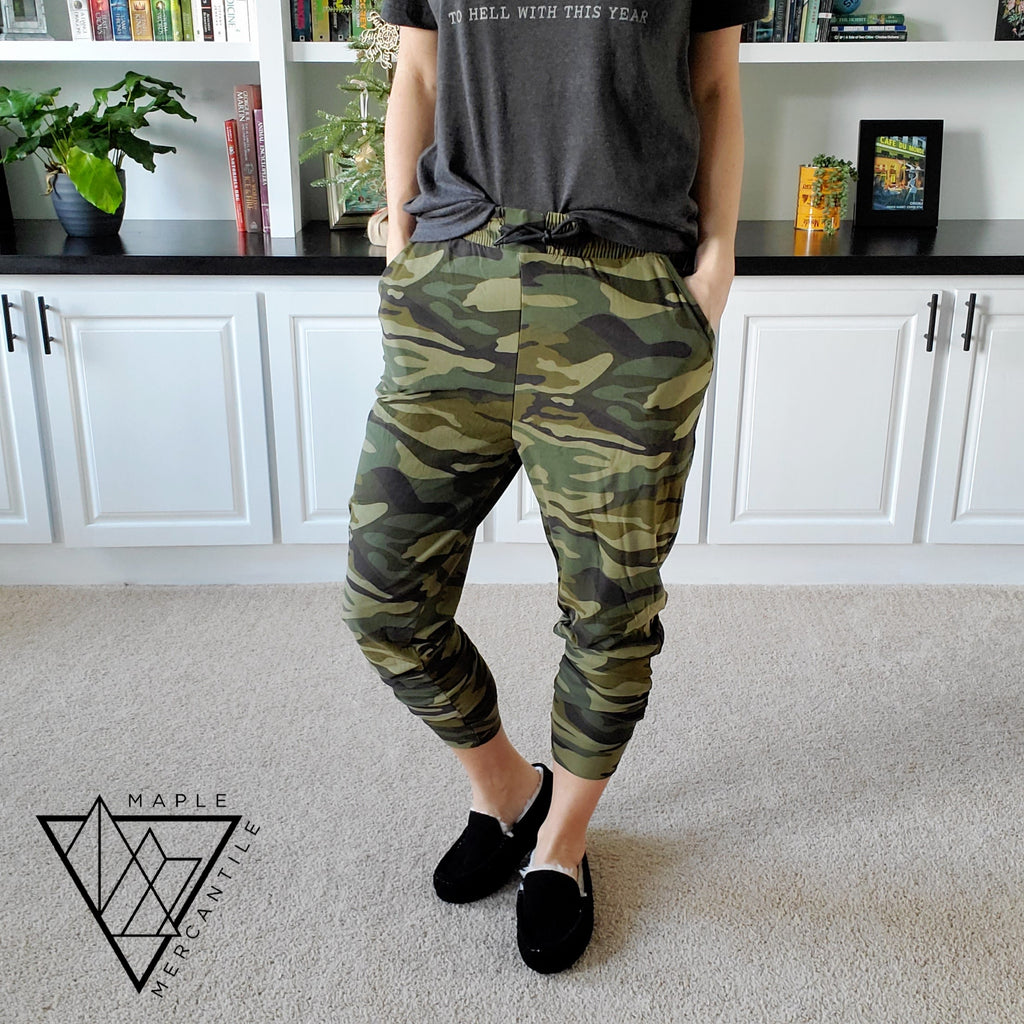 The Legging Jogger - Camo