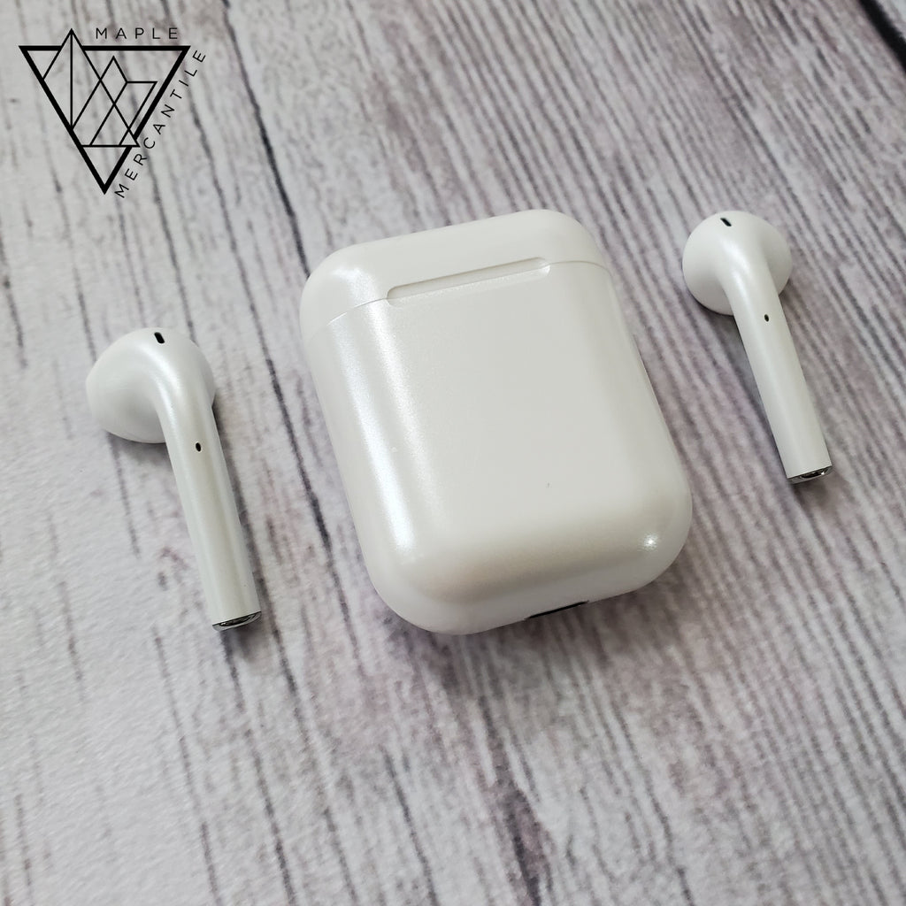 Metallic Wireless Bluetooth Earphones